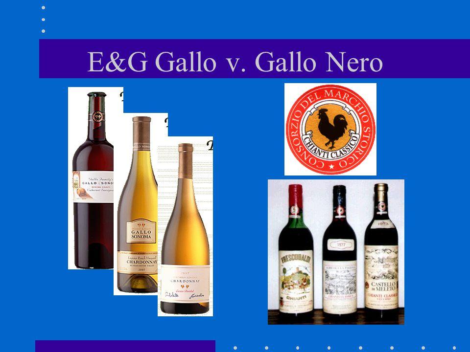 E&G Gallo v. Gallo Nero