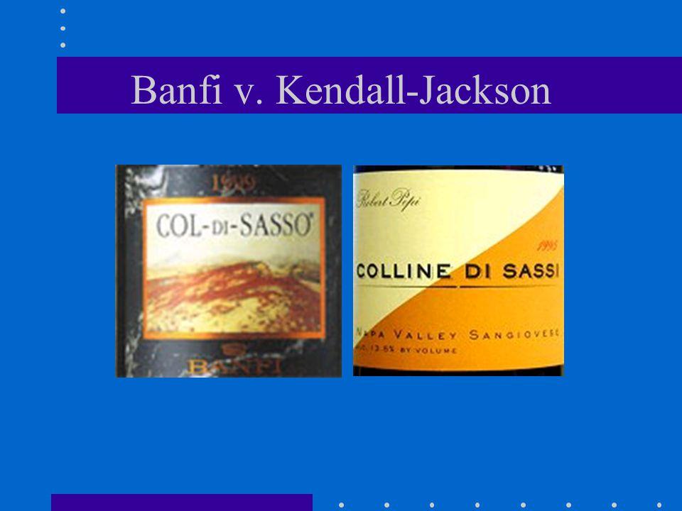 Banfi v. Kendall-Jackson