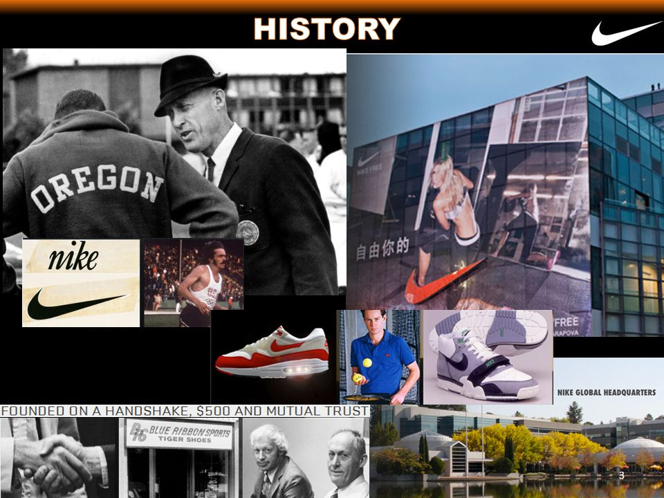 1970- The Swoosh first appears on a football/soccer cleat called the Nike.