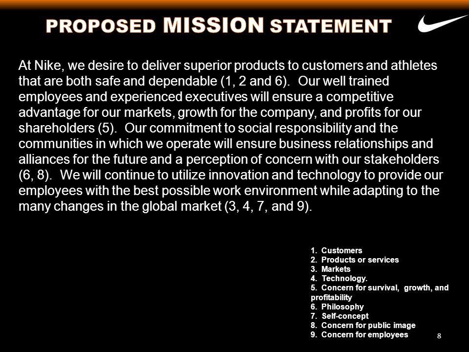 39 Area of ObjectivesMeasureTime ExpectationPrimary Responsibility Customers 1.