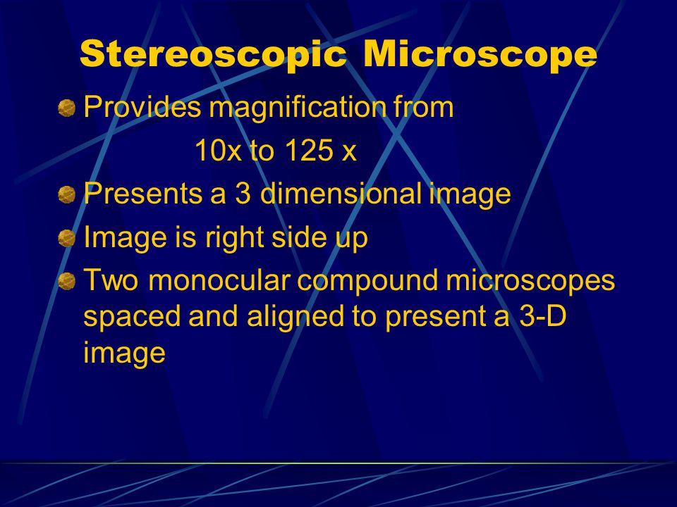 Stereoscopic cont.