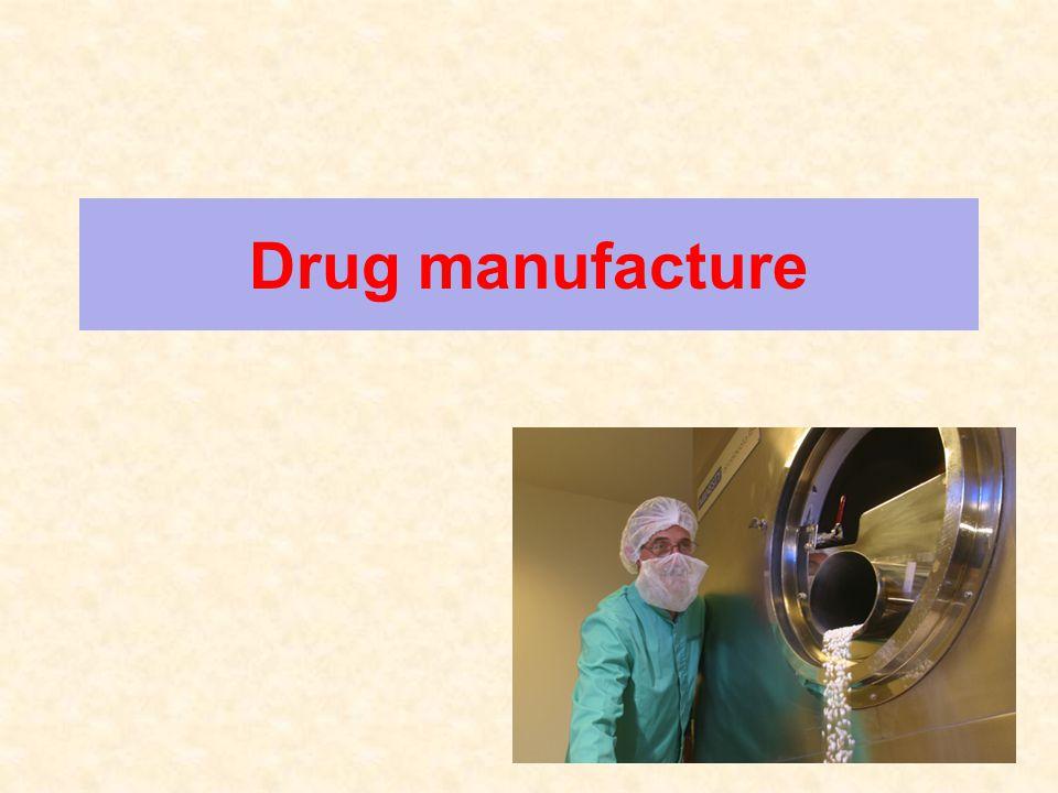 2 Drug manufacture 2