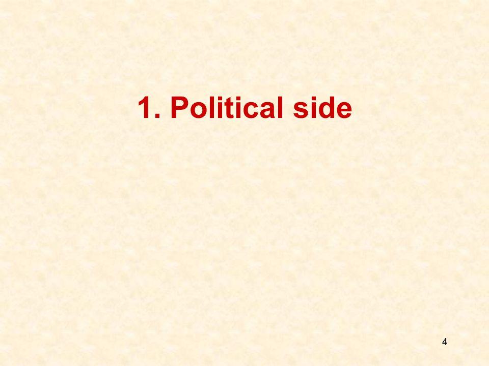4 1. Political side 4