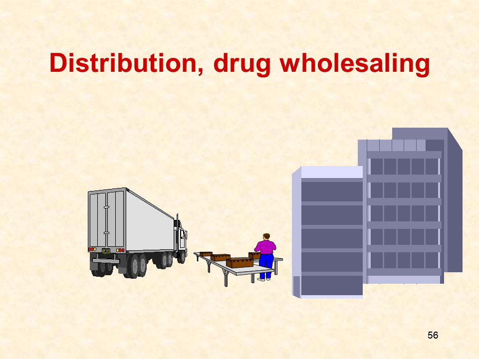 56 Distribution, drug wholesaling