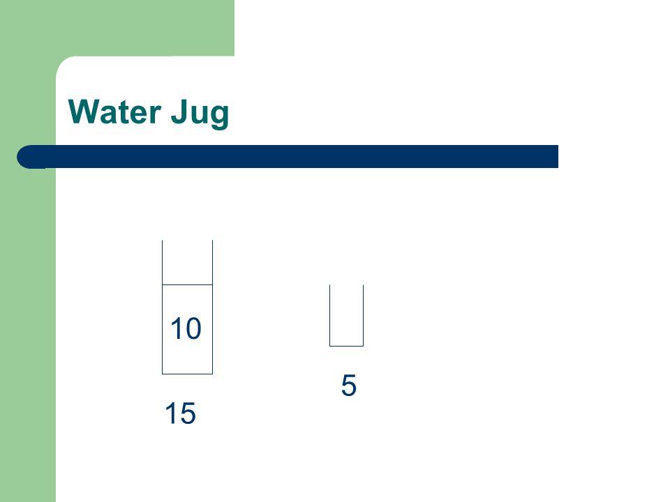 Water Jug 15 10 5