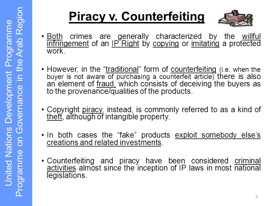 What is piracy.