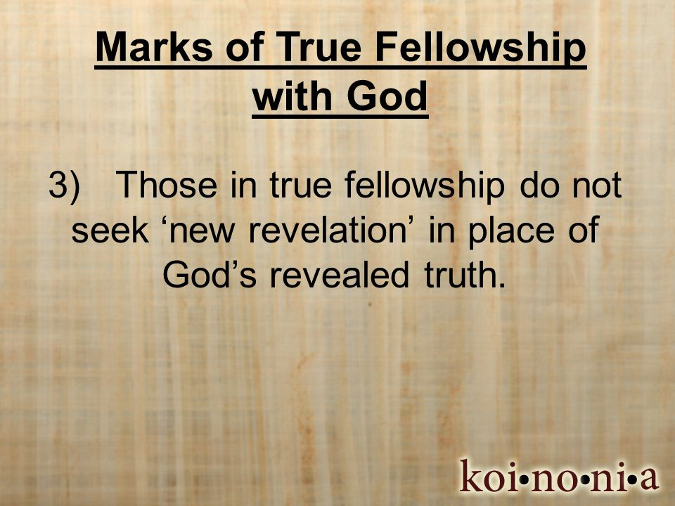 Our Response  Are you a student of God's truth. Are you able to discern truth from error.