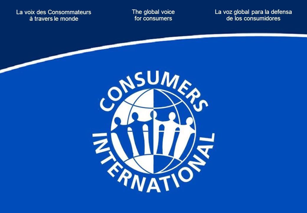 Conclusions Why has CIN joined CI s Global Consumer Dialogue on A2K issues.