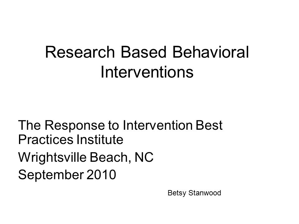 ANTECEDENT BEHAVIORCONSEQUENCE ABCs of Behavior or Three-term Contingency The Core of Applied Behavior Analysis