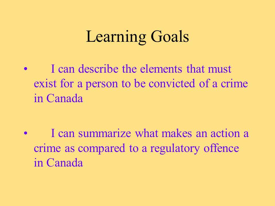 Unit 3 - Criminal Law Ch.6 - The Nature of Crime p.