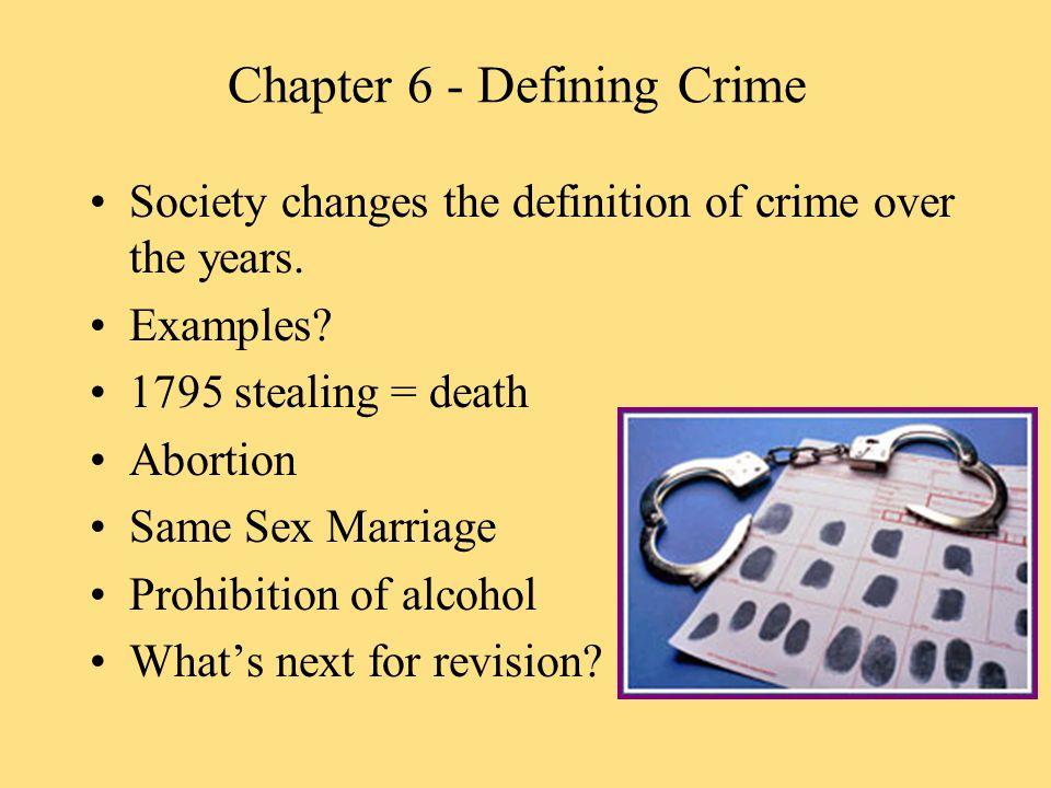 Chapter 6 - The Elements of a Crime ACTUS REUS + MENS REA = .