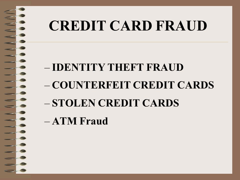Identity Theft Identity theft happens when someone steals your identity and impersonates you in order to open credit accounts, take over existing financial accounts, rent apartments, even engage in criminal acts.