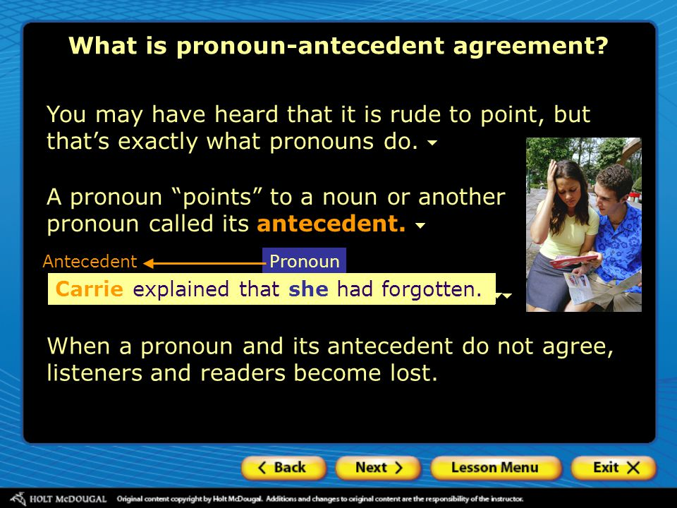 Special problems in pronoun agreement Expressions of amount / Plural forms 1.Ten percent of the customers were unhappy with _____ purchases.