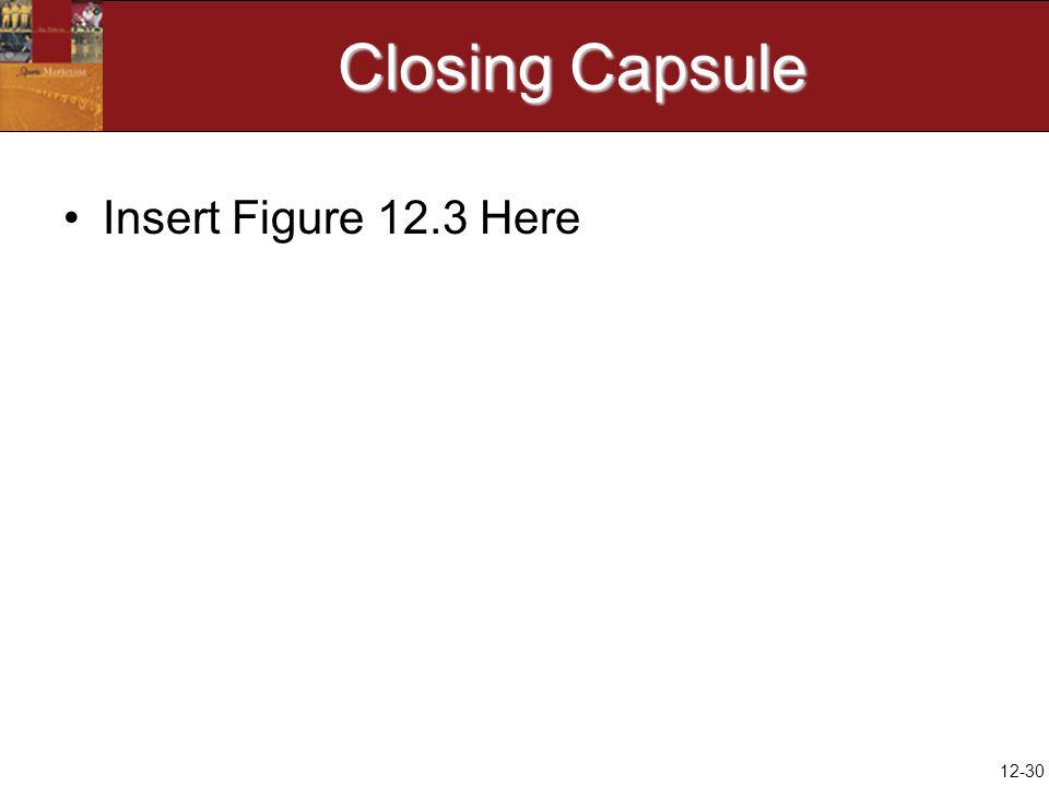12-30 Closing Capsule Insert Figure 12.3 Here
