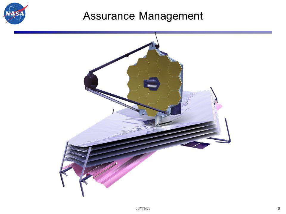 03/11/089 Assurance Management