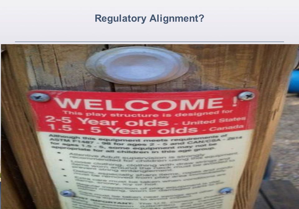 Regulatory Alignment?
