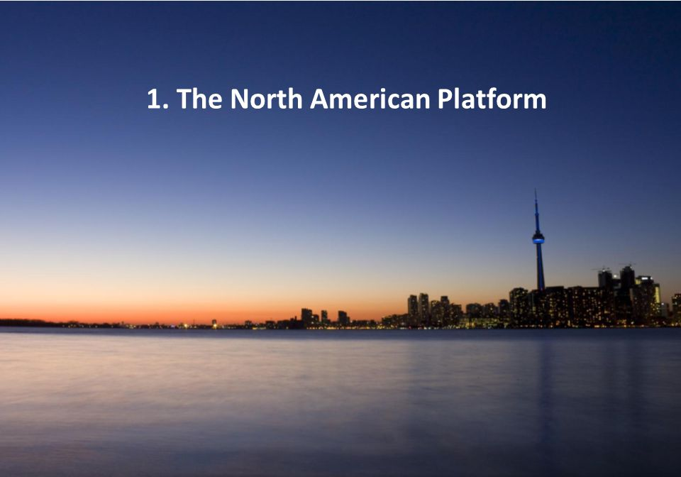 1. The North American Platform