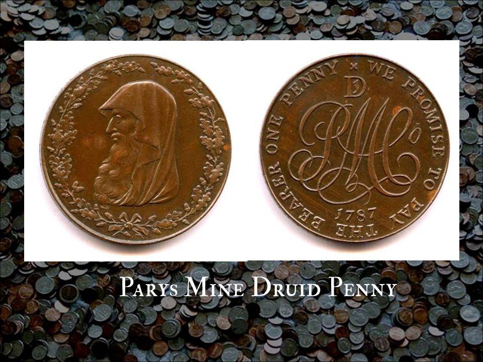Parys Mine Druid Penny