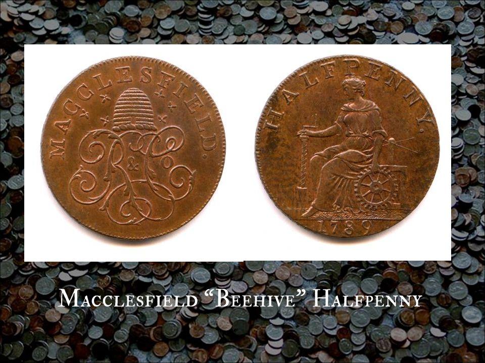 Macclesfield Beehive Halfpenny