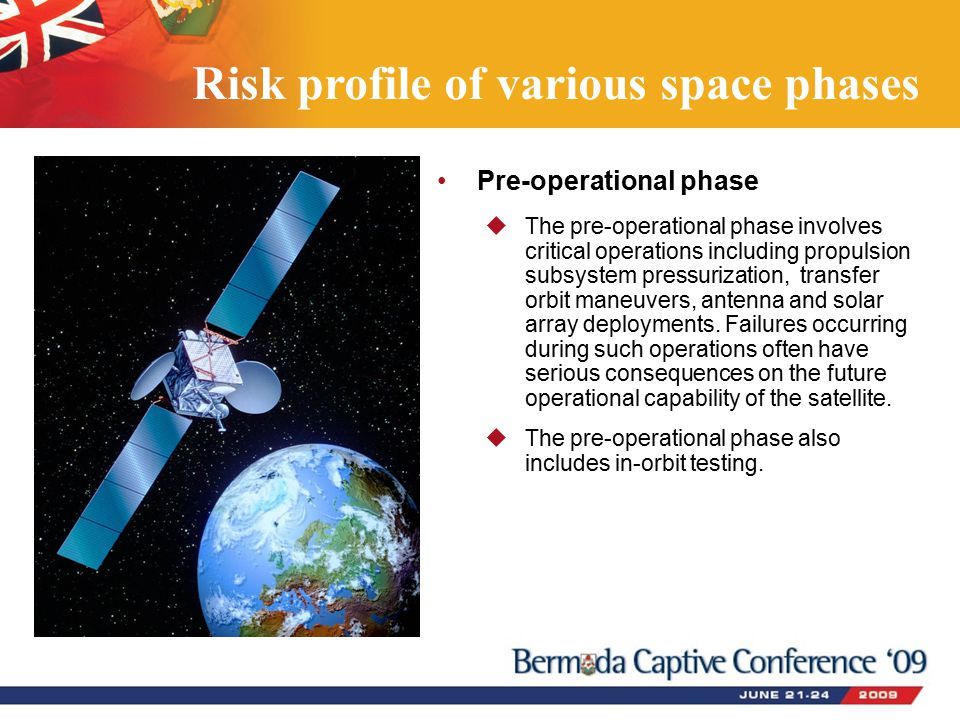 Pre-operational phase  The pre-operational phase involves critical operations including propulsion subsystem pressurization, transfer orbit maneuvers, antenna and solar array deployments.