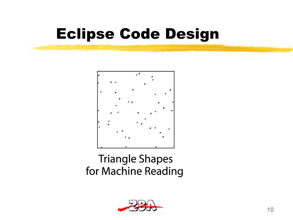 10 Eclipse Code Design