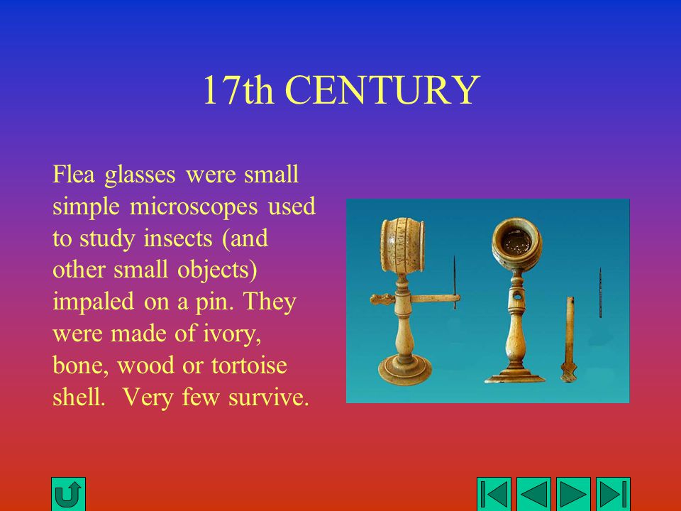 19th CENTURY Improved simple microscopes were later developed for dissection and manipulation of larger objects.