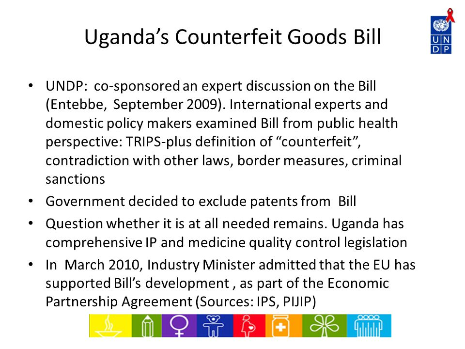 Draft EAC Anti-Counterfeiting Policy and Bill on Access to Essential Medicines Definition problems – what is counterfeit .