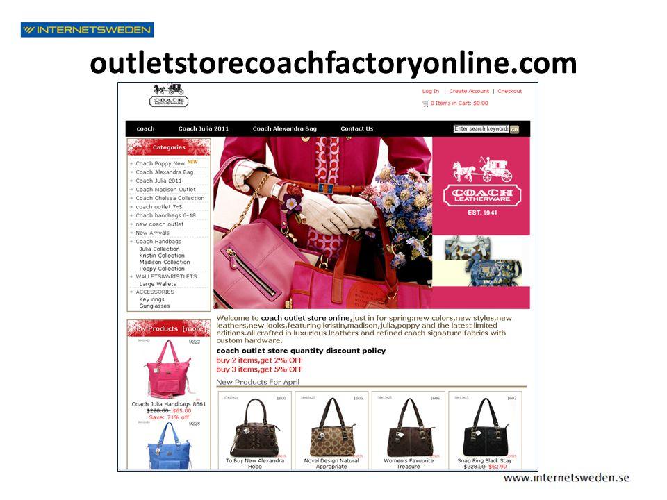 outletstorecoachfactoryonline.com