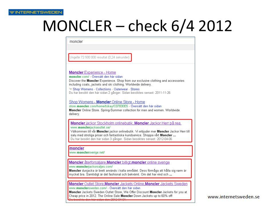 MONCLER – check 6/4 2012