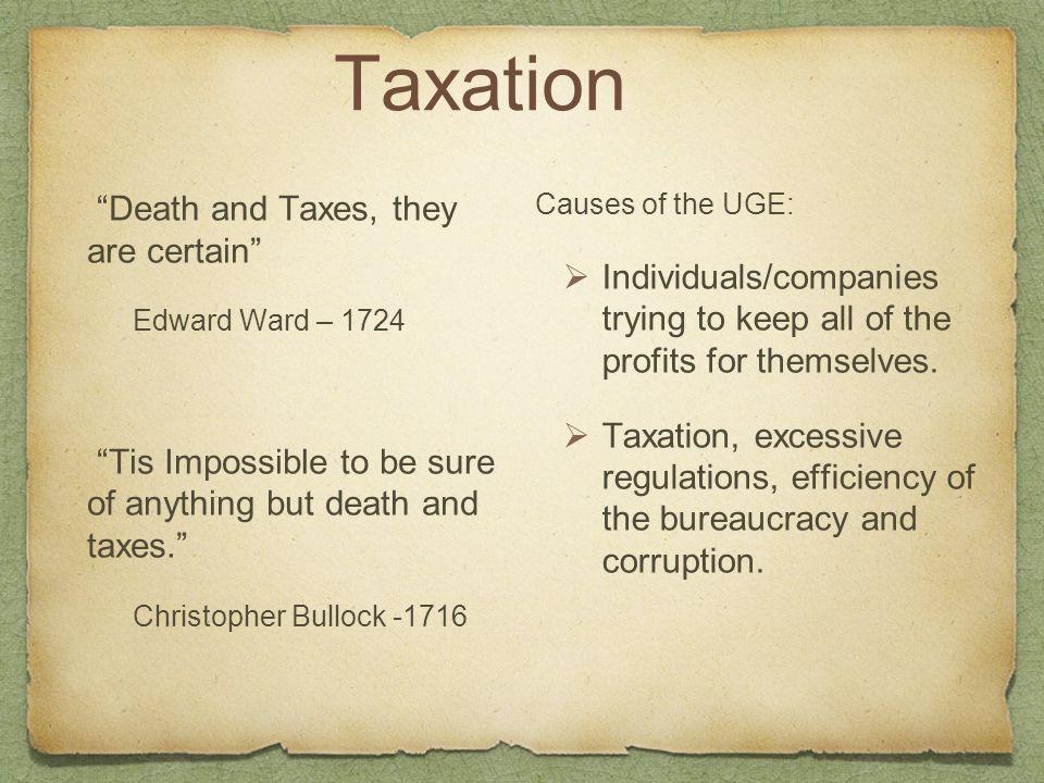 Tax Evasion – The Burden
