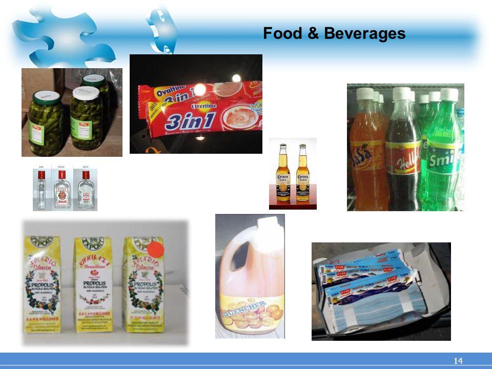 Food & Beverages 14