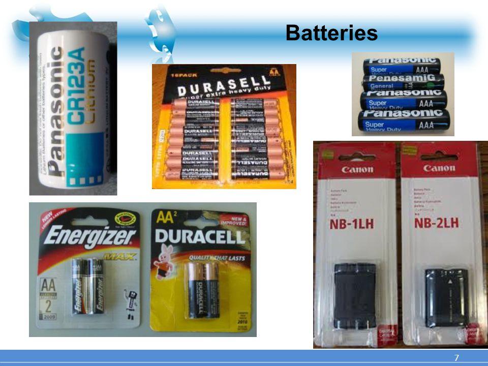 Batteries 7 7