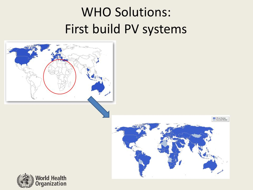 WHO Solutions: First build PV systems