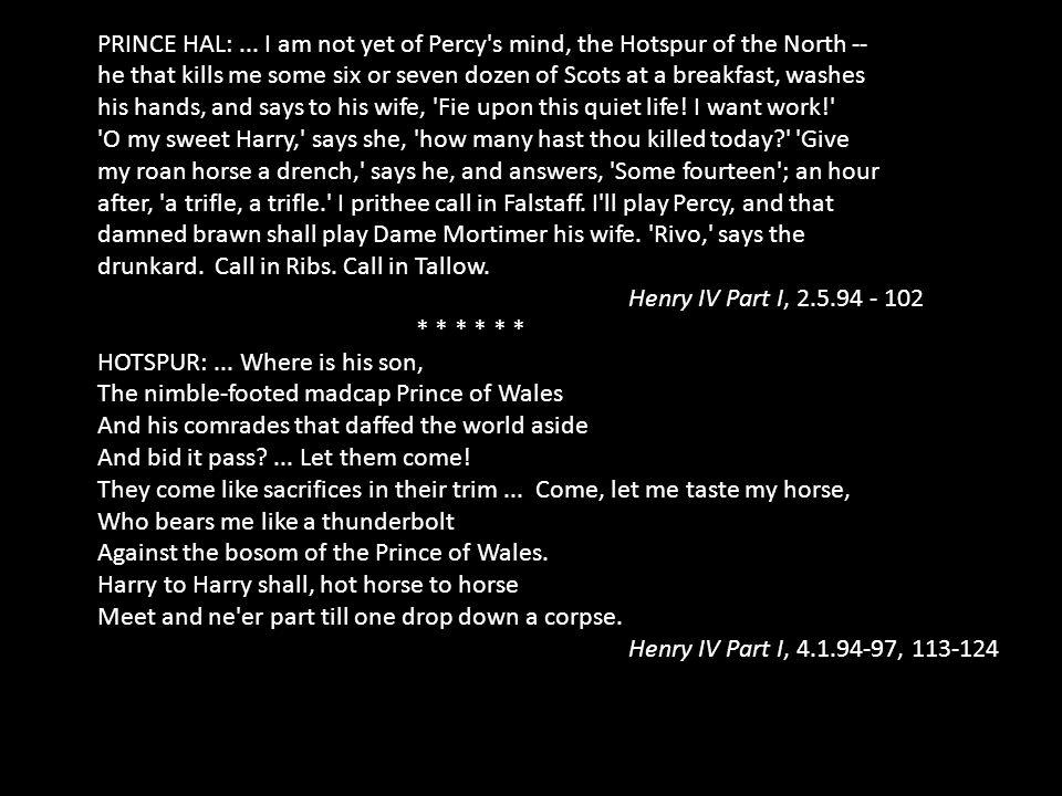 PRINCE HAL:...