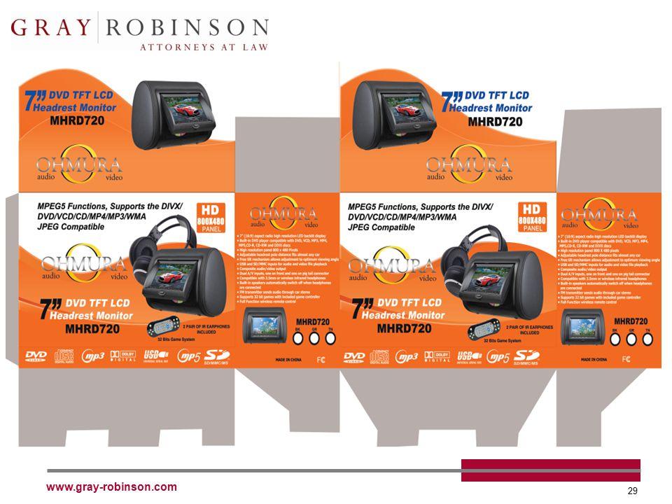 www.gray-robinson.com 29