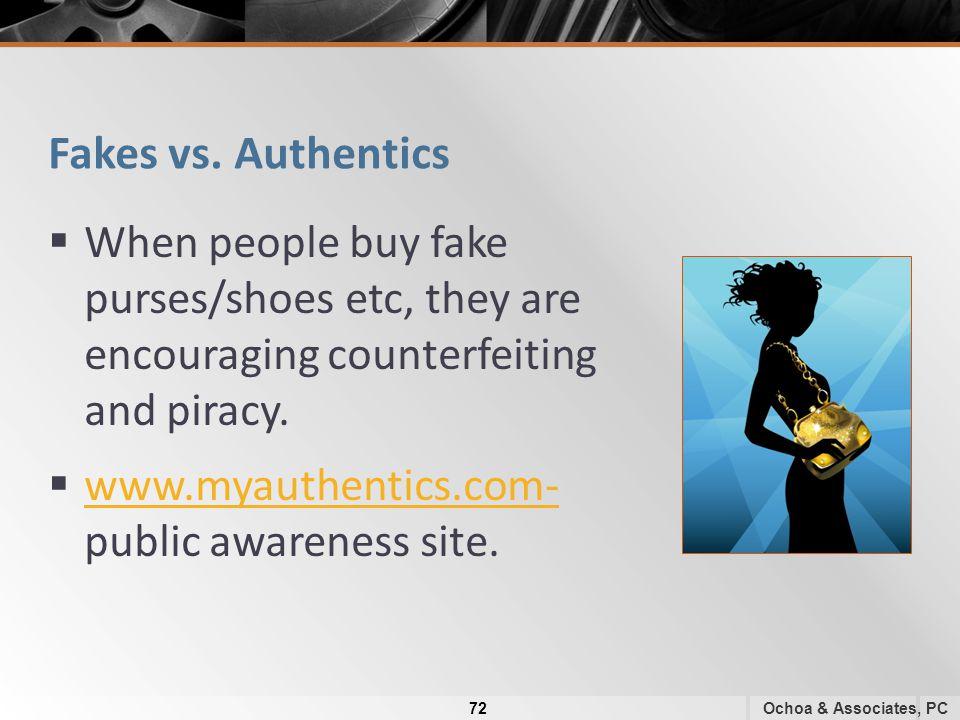 Fakes vs.
