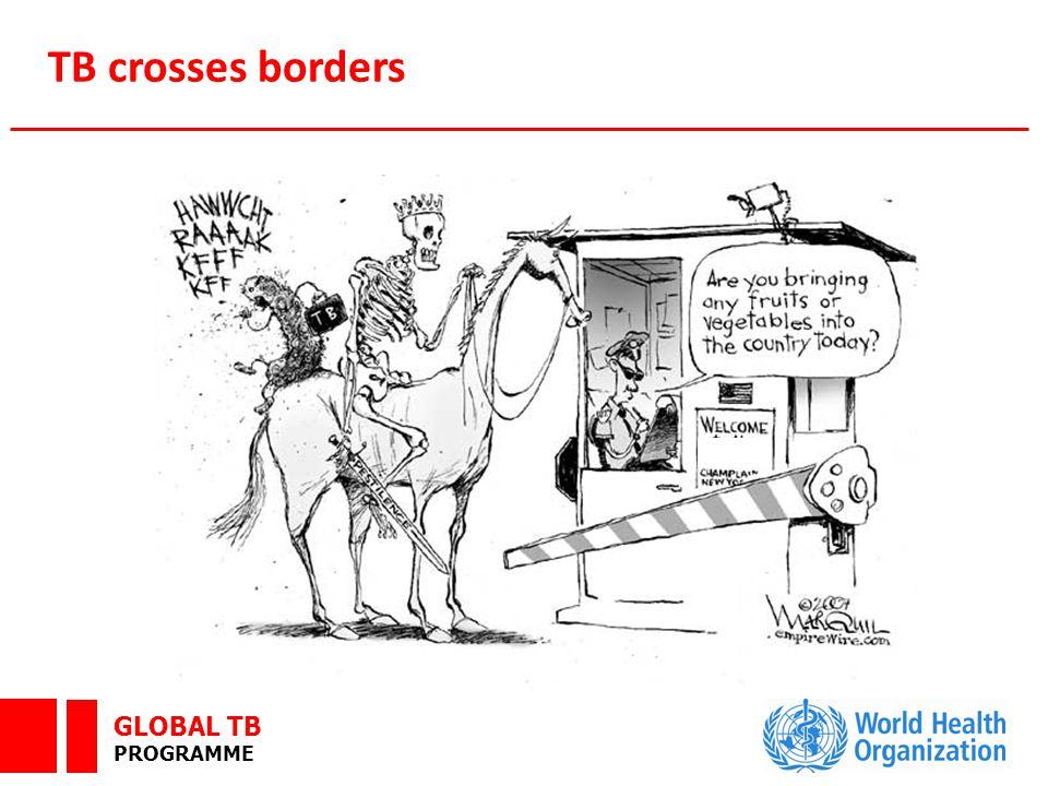 GLOBAL TB PROGRAMME TB crosses borders