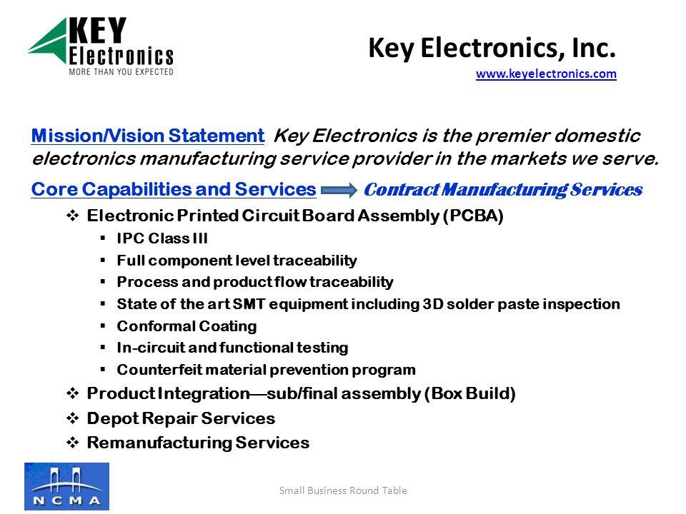 Key Electronics, Inc.