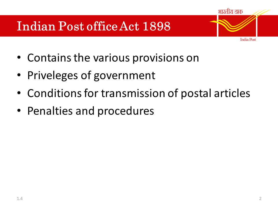 Postal Accounts Volume II Government Securities Post office Certificates Section (I) – Inland Money Order Section (II) – Foreign Money Order Indian Postal Orders British Postal Order International Reply Coupons 431.4