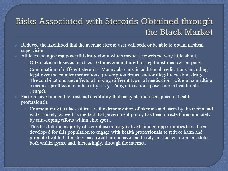  In 2007, the DEA's Raw Deal enforcement action revealed a vast network of national and international suppliers producing all types of steroids, using the internet and U.S.