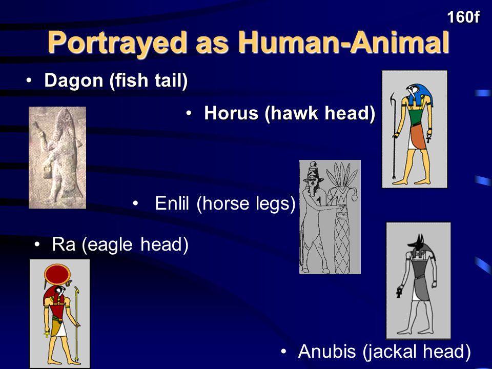 Pagan gods like humans: Pagan gods like humans: Experienced human feelings of jealousy, anger, lust, etc.