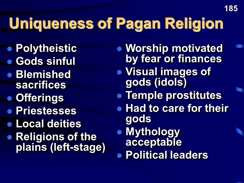 What common characteristics were true of most, if not all, Ancient Near East pagan religions.