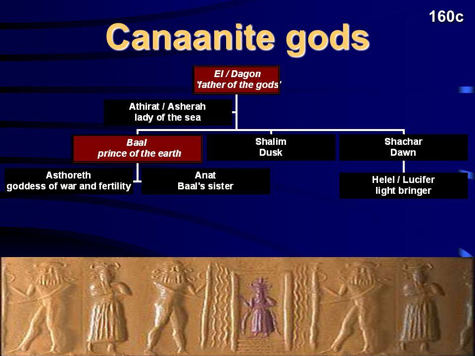 Canaanite gods 160c