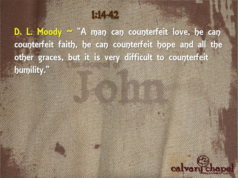 D. L. Moody ~