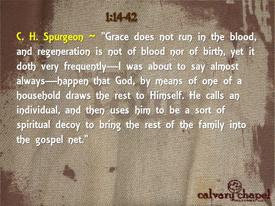 C. H. Spurgeon ~
