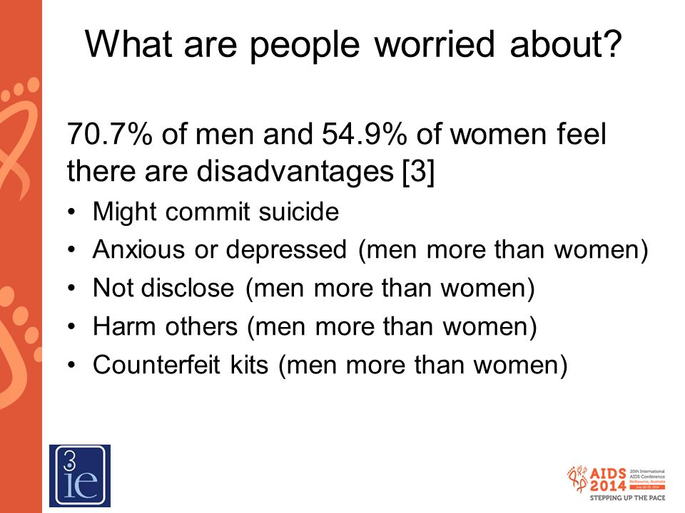 What are people worried about.