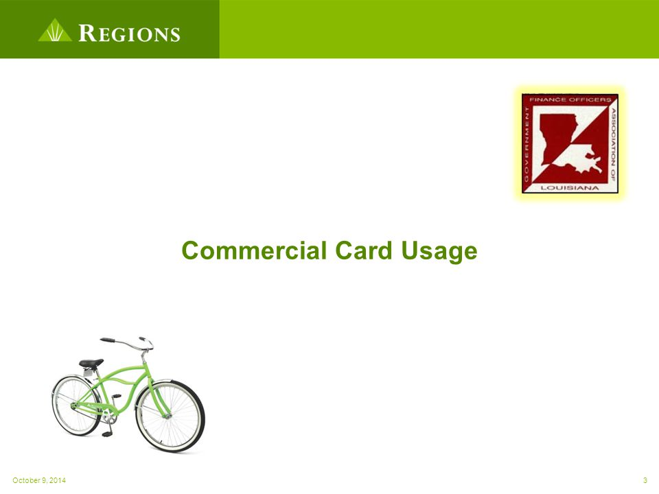 Commercial Card Usage October 9, 20143