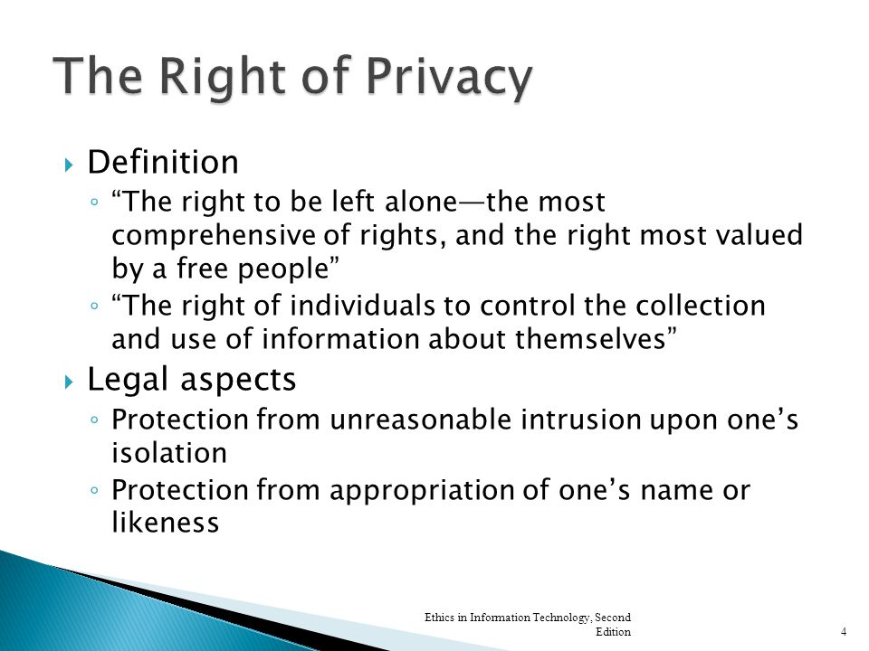  Electronic Communications Privacy Act of 1986 (ECPA) ◦ Highly controversial  Especially collection of computer data sent over the Internet ◦ Failed to address emerging technologies Ethics in Information Technology, Second Edition15