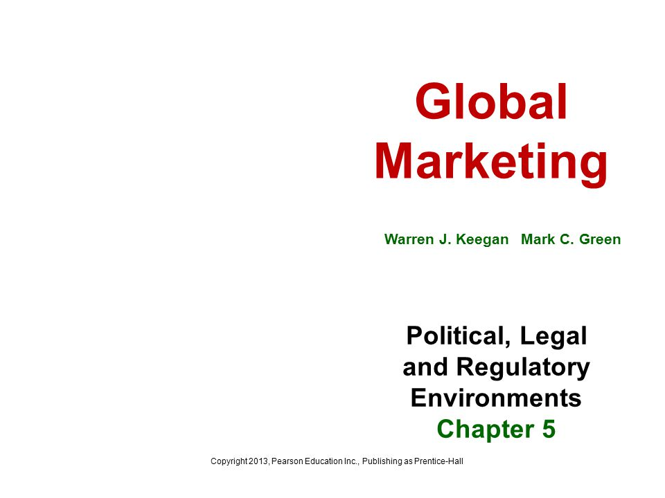 Global Marketing Warren J.Keegan Mark C.