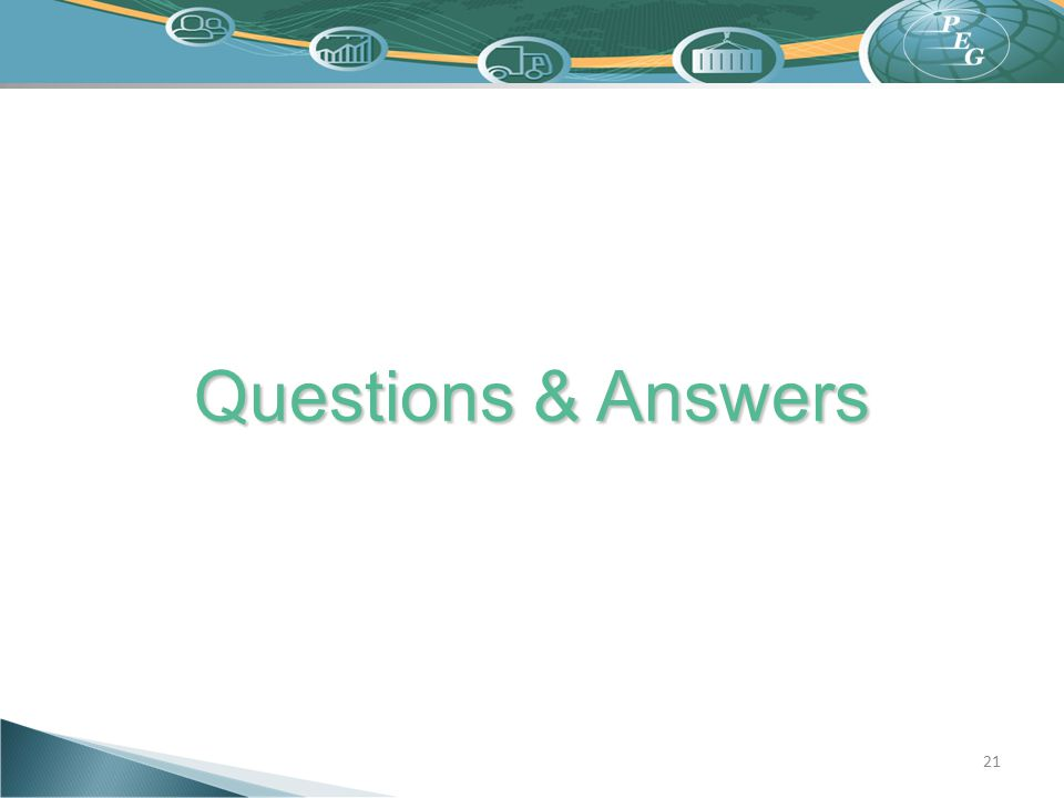 Questions & Answers 21